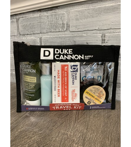 Duke Cannon Travel Kit Basket