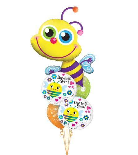 Bee Well Cheerful Balloon Bouquet