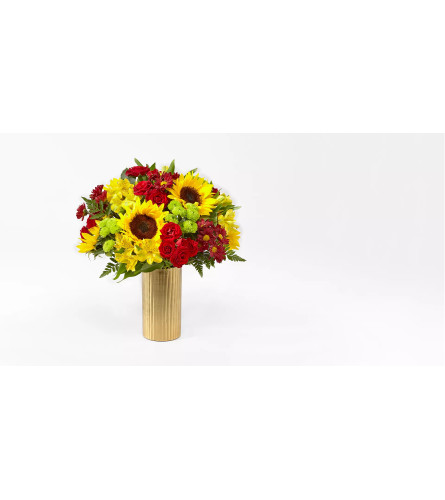 Shades of Autumn vase