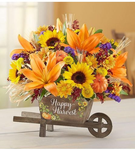 Happy Harvest Wagon