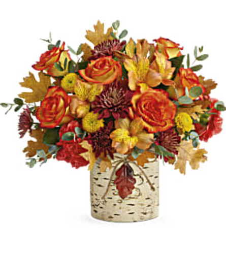 Autumn Birch Bouquet