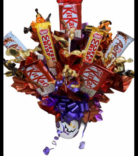 Halloween Big Kahoona Candy Bouquet