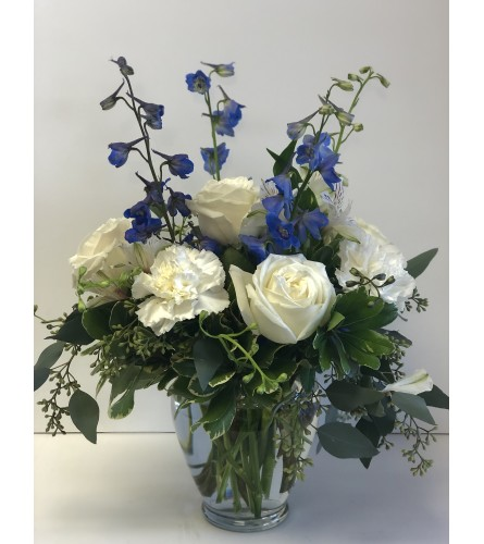 Luscious Blue bouquet