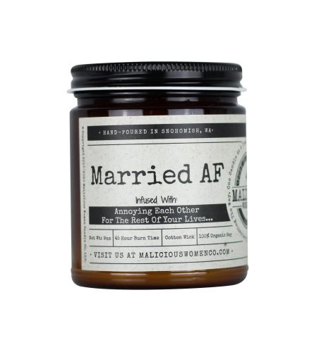 """Married AF! - Infused With """"Annoying Each Other For The Rest Of Y"""