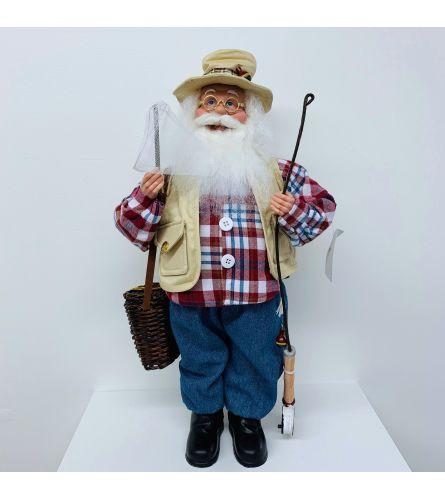 """Gone Fishing"" Santa"