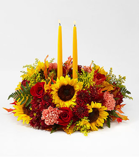THE GIVING THANKS CANDLE CENTERPIECE