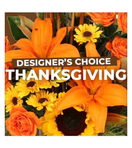Designers Choice for Thanksgiving