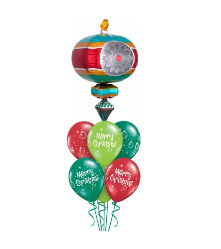 Deck the Halls Again! Awesome Balloon Bouquet