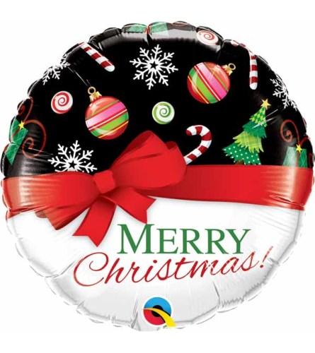 Merry Christmas Foil Balloon