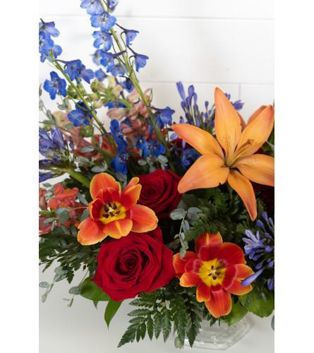 Field of flowers bouquet