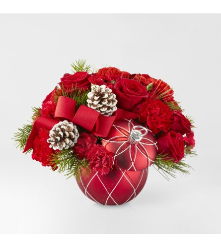 Jolly Making Spirits Bright Bouquet FTD