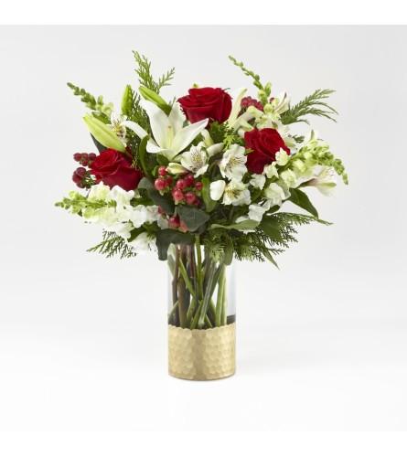 Golden Holidays Bouquet FTD