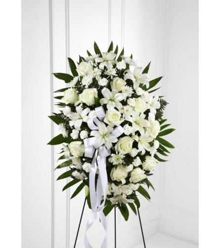 Exquisite Tribute Standing Spray FTD