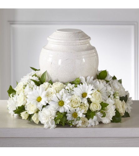 Ivory Gardens Cremation Adornment FTD