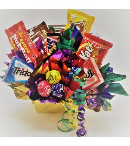 Candy Bar Bouquet  - Assorted