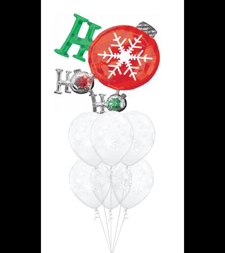 Ho Ho Ho Awesome Balloon Bouquet