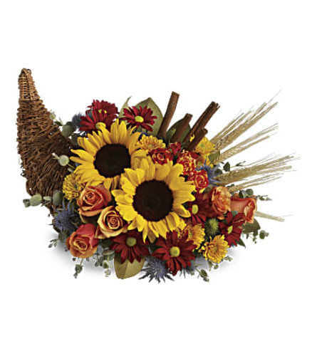 Sunflower Cornucopia