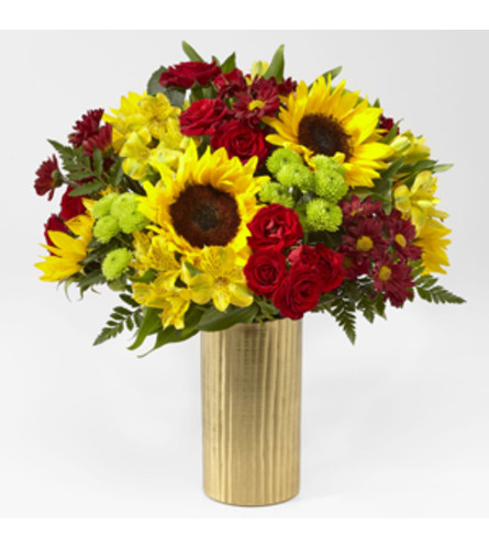 FTD 20-F4 Shades of Autumn Bouquet