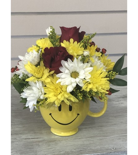 Flowers with a smile
