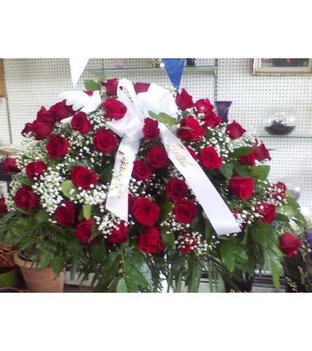 blanket of roses