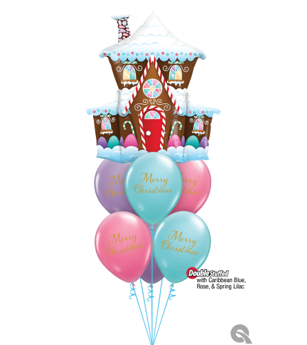 Wishing You a Season of Magic and Joy Awesome Balloon Bouquet