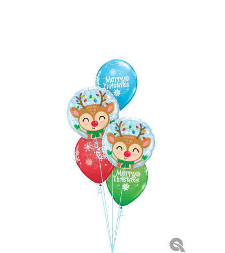 Wishing You All The Magic of The Season Classic Balloon Bouquet