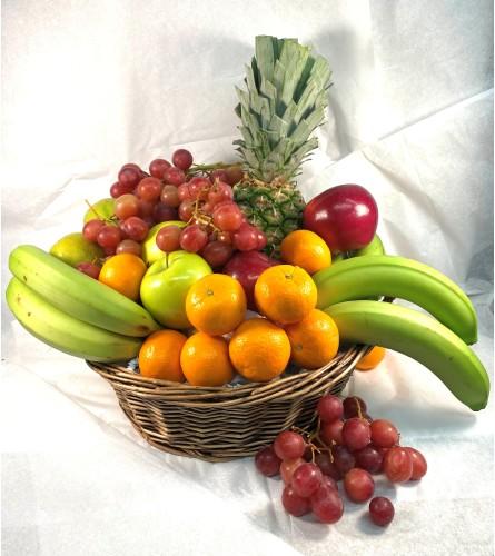 Locally made fruit basket