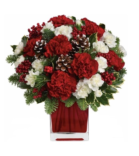 Christmas Flowers Bouquet