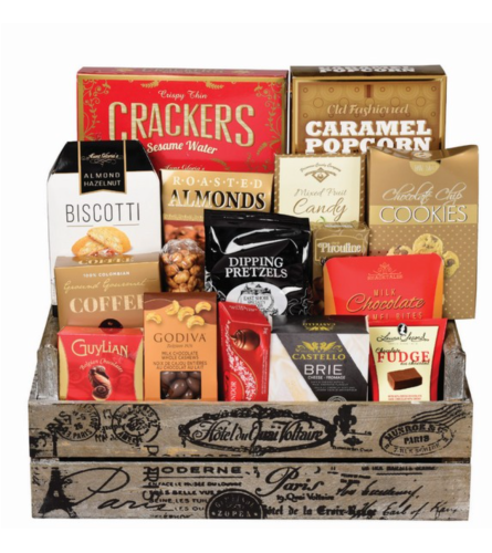 Crate Delight Gift Basket