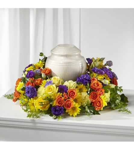 The FTD® Blossoms of Remembrance™ Cremation Adornment