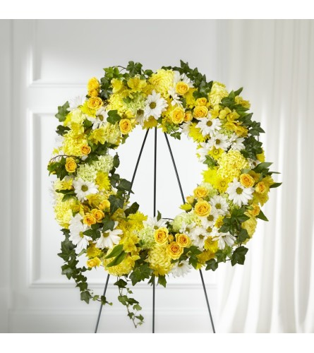 ORDER The FTD® Golden Remembrance™ Wreath