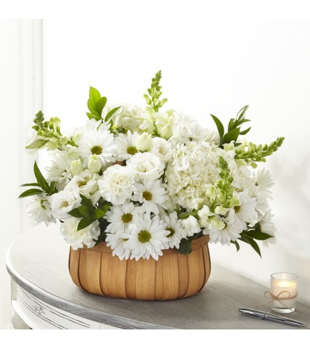 The FTD® Pure Ivory™ Basket