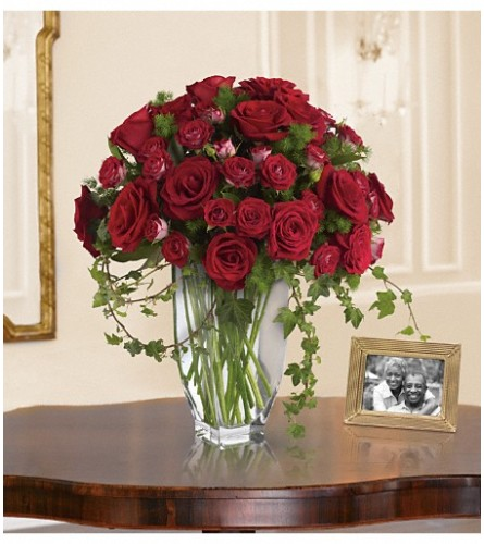 Teleflora's Rose Romanesque Bouquet - Red Rose