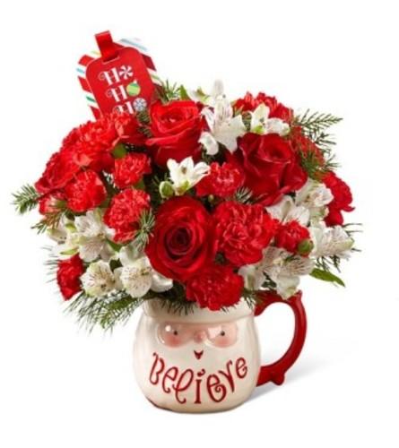 Believe Mug Bouquet by FTD & Hallmark