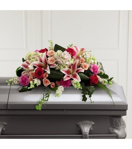 Splendid Grace Casket Spray FTD