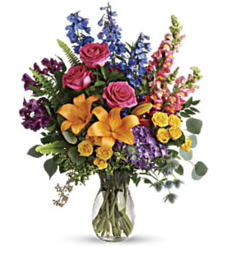 Colors Of The Rainbow Bouquet Teleflora