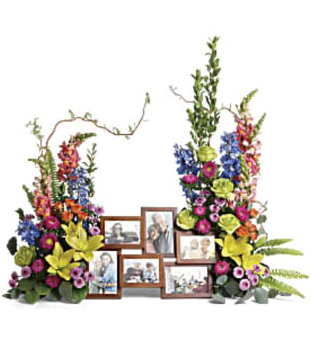 Loving Farewell Photo Tribute Bouquet Teleflora