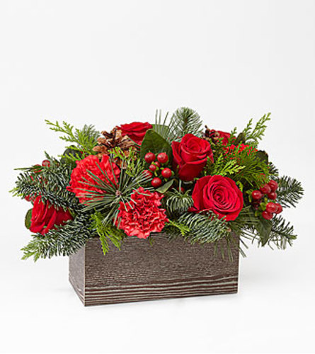 FTD Christmas Cabin Bouquet FTD