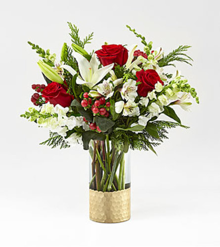 FTD Golden Holiday Bouquet FTD