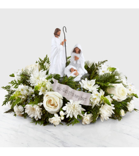 THE GOD'S GIFT OF LOVE CENTERPIECE