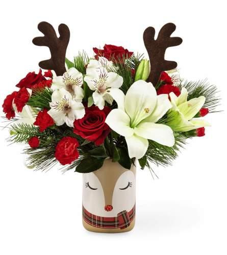 Shine Bright Raindeer Bouquet