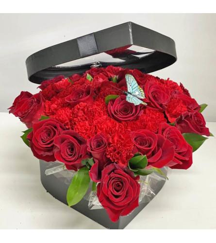 LAVISH LOVE IN RED