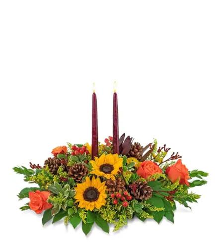 Autumnal Abundance Centerpiece