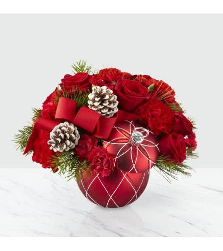 FTD Christmas Ornament Bouquet