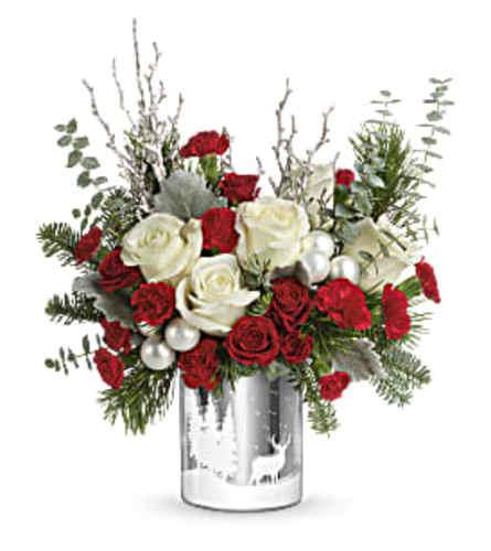 Winter Best  Wishes Bouquet