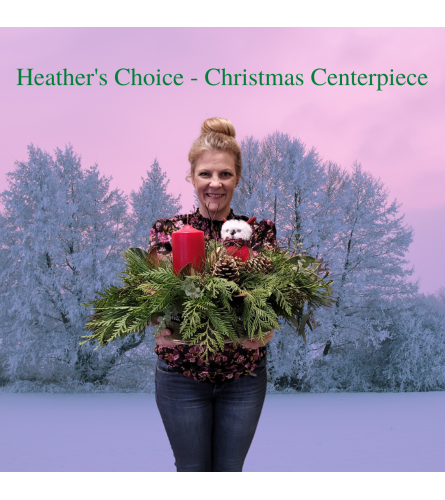 Heather's Choice Christmas Centerpiece