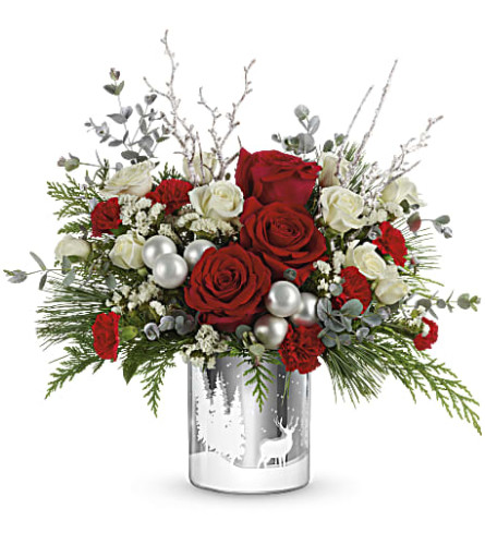 Teleflora's Wintry Wishes Bouquets