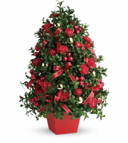 Deck the Halls Tree by Teleflora