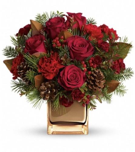 Warm Tidings Bouquet - Teleflora