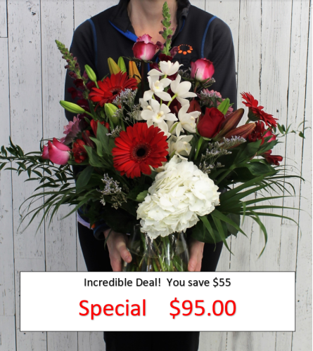 The Incredible Florist Special